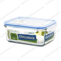Glasslock Classic 1090ml Rectangle  Container