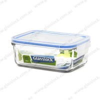 Glasslock Classic 715ml Rectangle Container